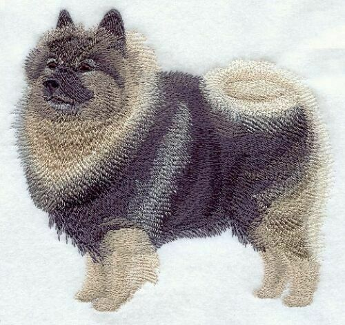 Embroidered Ladies Fleece Jacket - Keeshond C9634 Sizes S - XXL