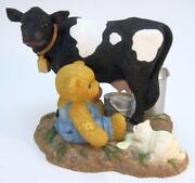 Cherished Teddies Cow