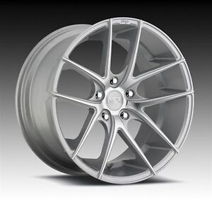 """20"""" Niche wheels with new winter tires"""