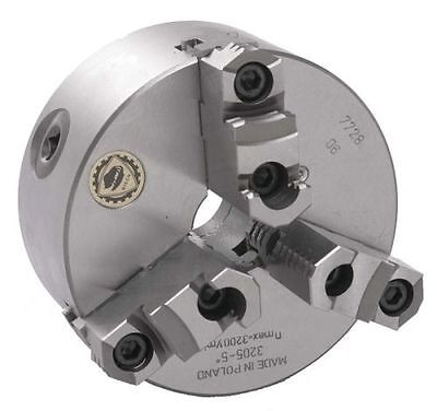 10 Bison 3 Jaw Lathe Chuck Direct Mount D1-6 Spindle