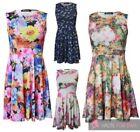 Elastane Floral Dresses Stretch