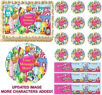 Edible toppers for cakes, cupcakes or cookies.Fronting print