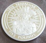 Trafalgar 5 Pound Coin
