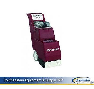 New Minuteman Ambassador Jr. Carpet Extractor With Motorized Extraction Tool