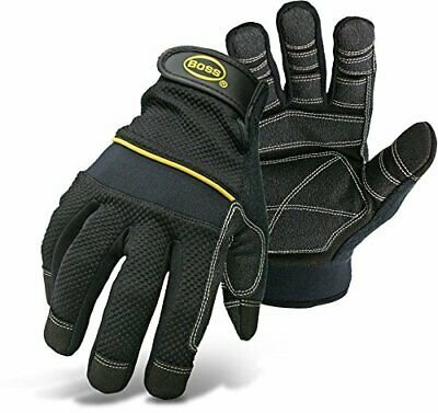 Boss Gloves 5202L Multi-Purpose Padded Knuckle Utility Glove, Large - $23.92