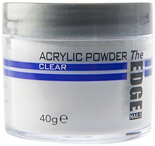 The Edge Professional CLEAR Acrylic Powder 40g OFFICIAL STOCKISTS
