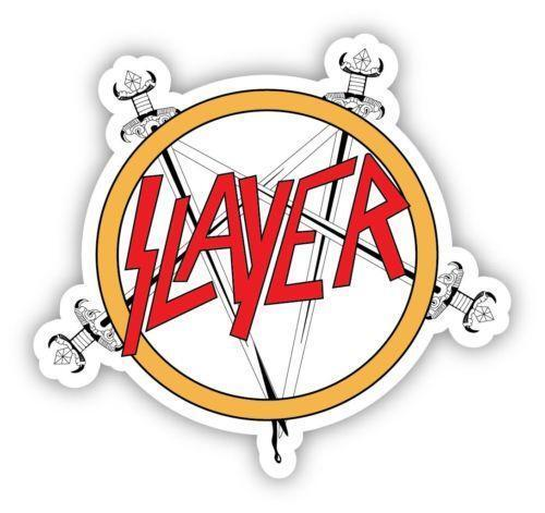 Slayer sticker ebay