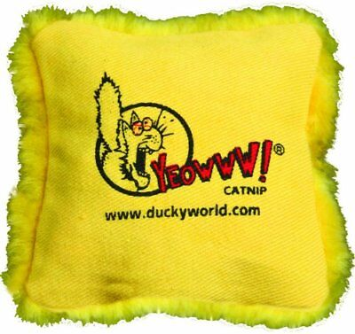 Catnip Single (Yeowww! Catnip Pillows Yellow)