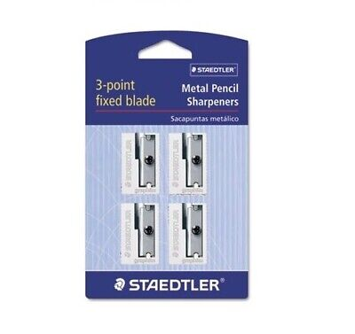 Staedtler Single Hole Metal Pencil Sharpener, Handheld, New](Handheld Pencil Sharpener)