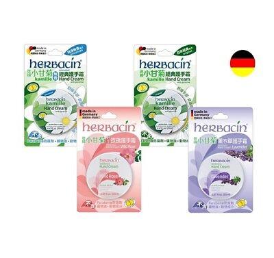 HERBACIN  Kamille Hand Cream Original Kamile/ WildRose/ Lavender/ Unscented 20ml
