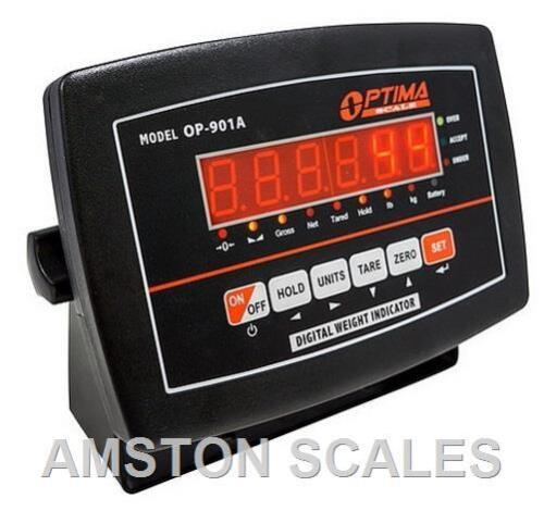RECHARGEABLE BATTERY LED UNIVERSAL DIGITAL INDICATOR READ OUT WEIGH SCALE TANK A