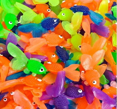 50 Goldfish Figurines Party Favors Bulk Wholesale Fish Birthday Gold Fish](Wholesale Party)