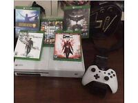 Xbox one s with games 2nd hand