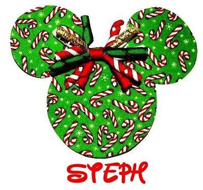 ****DISNEY MINNE MOUSE CHRISTMAS PERSONALIZED* **FABRIC/T-SHIRT IRON ON TRANSFER](Disney Christmas Shirts Personalized)