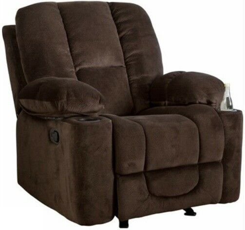 Brown Glider Arm Chair Recliner Recliners Chairs Armchair Ar