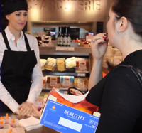 Wanted: Food Samplers and Product Demonstrators
