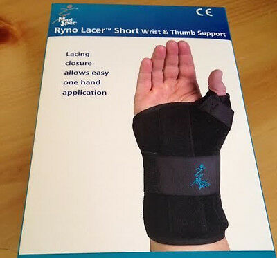 Med Spec Ryno Lacer Short Wrist & Thumb Support, XLarge Left 223886 New In Box