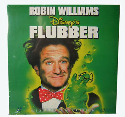 Laserdisc LD - Disney´s - FLUBBER - mit Robin Williams Film Movie NEU
