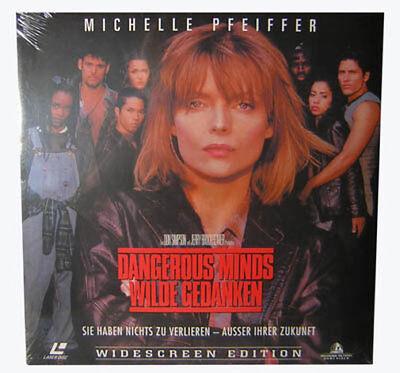 """Laserdisc """" Dangerous Minds - Wilde Gedanken """" NEU"""
