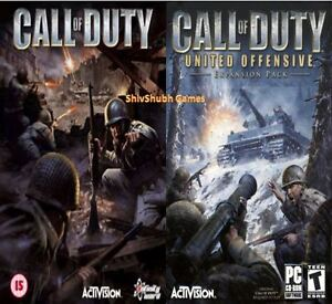 Call of Duty 1 + United Offensive Expansion for PC