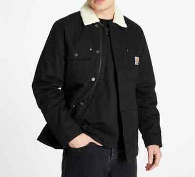 Chaqueta Hombre Carhartt Fairmount Abrigo (Negro) Talla XL