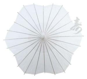 """32"""" Scalloped Shaped Paper Parasol"""