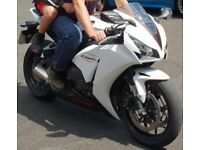 Honda CBR1000RR Fireblade. White. Very low mileage.