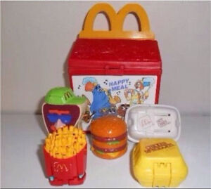 Vintage McDonald's happy meal & drive thru