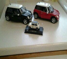 Die cast minis scale 1:18 x2,1 small mini