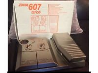 ZOOM 607 BASS EFFECTS PEDAL