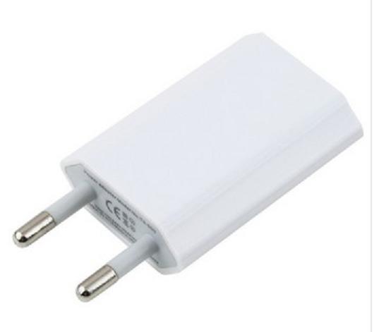 USB Lader Ladegerät Mini Netzteil flach weiss 5V 1A Handy Smartphone Tablet Navi