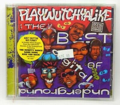 Playwutchyalike: The Best of Digital Underground [PA] ~ NEW CD (2003, Rhino