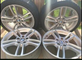 """4 X Genuine 18"""" BMW Alloys / Rims Wheels"""