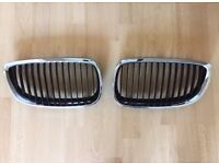 Bmw 3 series E90/E93 Genuine OEM Front bonnet Grills