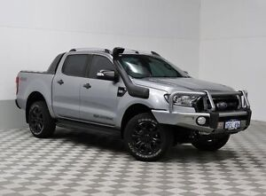 2016 Ford Ranger PX MkII Wildtrak 3.2 (4x4) Grey 6 Speed Automatic Dual Cab Pick-up East Rockingham Rockingham Area Preview