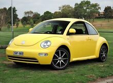 2003 Volkswagen Beetle 9C 1.6 Ikon Yellow 5 Speed Manual Hatchback Preston Darebin Area Preview