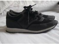 Black New Balance never worn for sale!