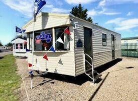 Static caravan for sale sited in Essex