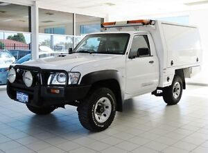 2011 Nissan Patrol GU MY08 DX (4x4) White 5 Speed Manual Morley Bayswater Area Preview