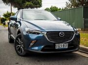 2017 Mazda CX-3 DK4W7A sTouring SKYACTIV-Drive AWD Eternal Blue 6 Speed Sports Automatic Wagon West Hindmarsh Charles Sturt Area Preview