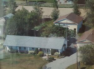 Maison à louer ou à  vendre à St-Jude 45 minutes de MTL