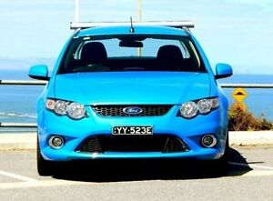 2010 Ford Falcon FG XR6 Ute Super Cab 50th Anniversary Blue 6 Speed Sports Automatic Utility Christies Beach Morphett Vale Area Preview