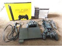 Boxed PlayStation 2 Slim