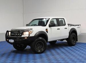 2011 Ford Ranger PK XL (4x4) White 5 Speed Manual Dual Cab Pick-up East Rockingham Rockingham Area Preview