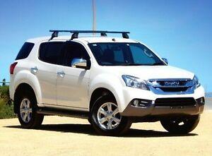 2014 Isuzu MU-X MY15 LS-U Rev-Tronic 4x2 White 5 Speed Sports Automatic Wagon Christies Beach Morphett Vale Area Preview
