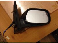 Toyota Prius Saloon 2003 Driver Side Wing Mirror Dark Green (OFF SIDE)