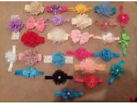 Baby girl baby hair bands. Last of stock