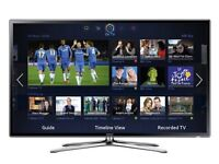 Samsung 46-inch Widescreen 3D LED Smart TV with built in WIFI and Freeview