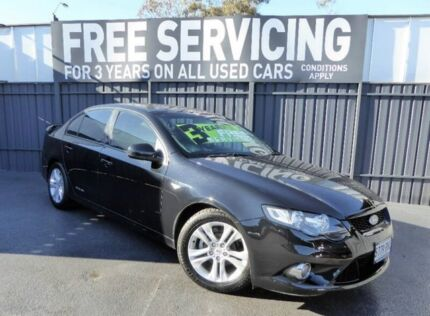 2010 Ford Falcon FG XR6 Black 6 Speed Sports Automatic Sedan Reynella Morphett Vale Area Preview