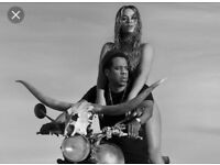 Beyonce and jay z at Hampden park